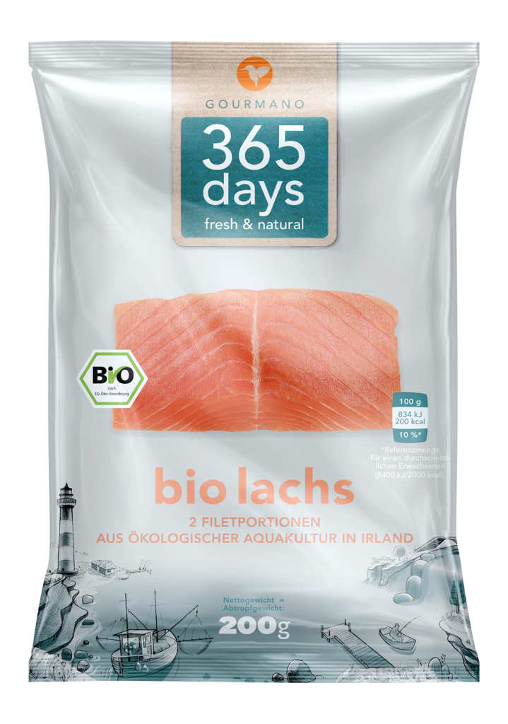 GOURMANO BIO-Lachs-Filet